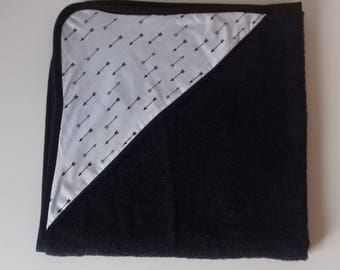 Arrow hooded towel for baby 0-6 months