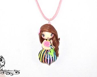 Polymer clay doll