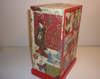 """A little bit of Asia"" Dresser box"