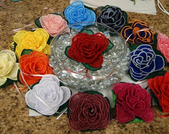Create A Rose Lace Rose