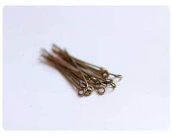 80 nails at 38mm - bronze color eye