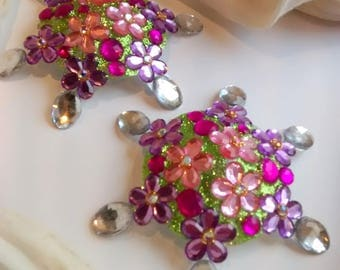 Booby Bling Floral Delight