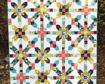 City Girl quilt pattern by Dora Cary from Orange Dot Quilts