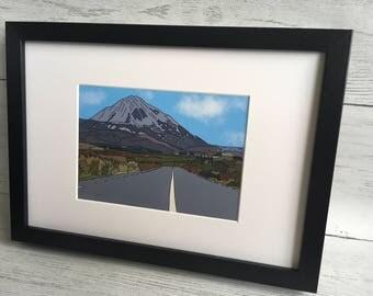 Mount Errigal, Gaoth Dobhair, Donegal, Ireland,