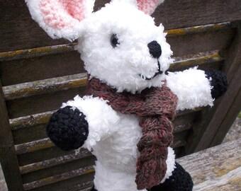 KNITTING pdf tutorial/pattern: a rabbit named Chamalow