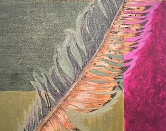 Redtail Feather (Original)