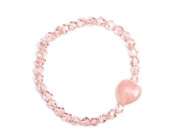 Love - Heart Stretch Bracelet