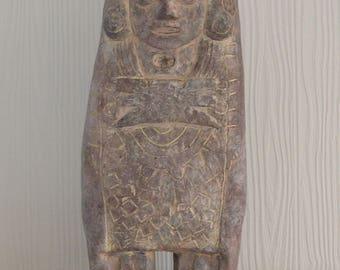 Toltec Warrior sculpture