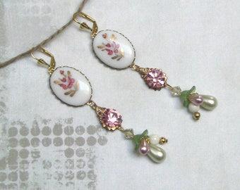 LES FLORALES baroque earrings