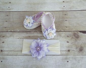 Bay shoes and headband, baby accessories, girls accessories, accessories