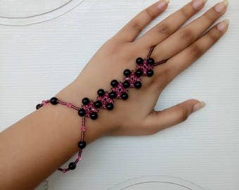 Kaleidoscopic Hand Chain Bracelet