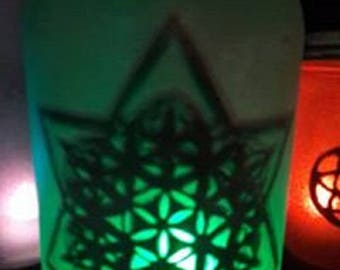 Sacred LED Jar Lantern