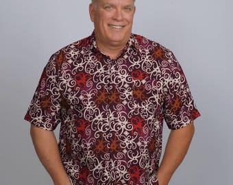 ARRIBATIK Casual Artisan Shirt - Fire