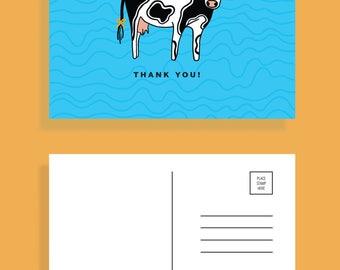 Thank Moo Postcards [Set of 5]