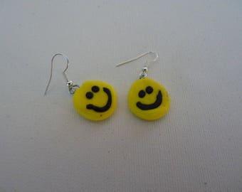 Happy Faces earrings