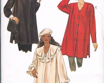 Very Easy Vogue 8792 Misses Maternity Shirt Size 12-14-16 UNCUT