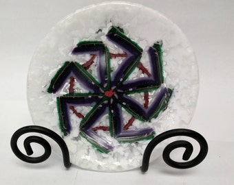 Small Fused Glass Bowl