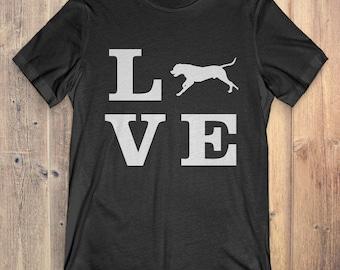 Dogo Argentino Dog T-Shirt Gift: I Love Dogo Argentino