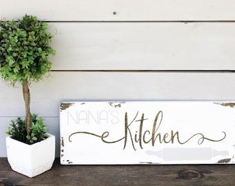 Grandmas Kitchen Sign, Grandmas Kitchen, Grandmas Gifts, Gifts for Grandmas, Nana Gift, Gifts for Nana, Grandmother Birthday Gift, Kitchen