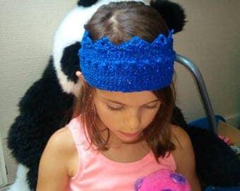 Crown headband 100% handmade crochet