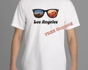 Los Angeles Sunglasses Tee Shirt