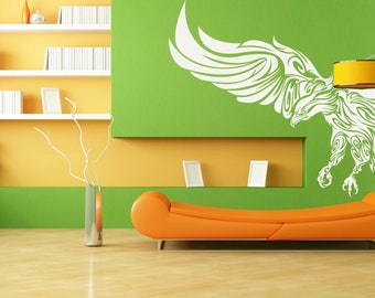 Modern Style Mystic Eagle - Wall decals for magical minds   Many colors and Sizes available   Mystic collection