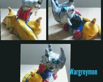 Wargreymon Handmade Sculpture