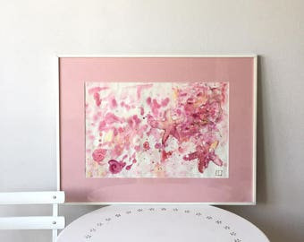 Watercolour in mat pink starfish