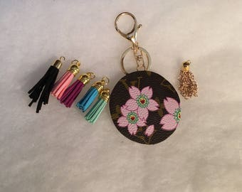 You Create Your Louis Vuitton Inspired Bag Charm and Keychain-designer inspired bag Charm-upcycled Bag charm-car decoration-bag decoration