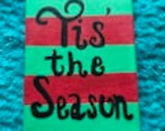 Tis' The Season Canvas Art