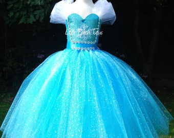 New to Etsy! Elsa inspired by Frozen Tutu dress