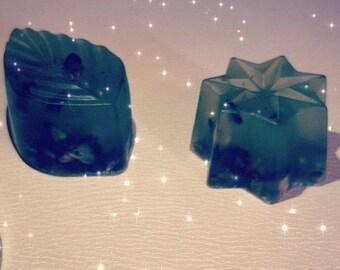 Organic Mini Soaps bar for black spots & damaged skin