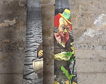 Art' Abst07 cashmere modal scarf (AMNTON ART'/VIDA)