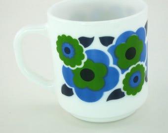 Mug vintage Lotus bleu Arcopal