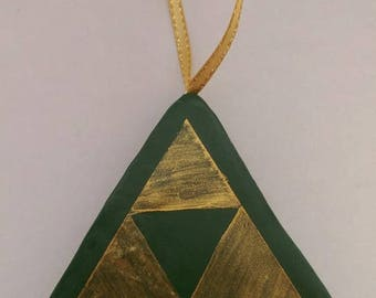 Legend of Zelda Hyrule Triforce Christmas decoration