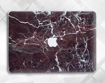 Burgundy marble Macbook Pro Case Marble Laptop Case Macbook Hard Case Macbook Air Marble Macbook Air 13 Marble Macbook Rose Marble Macbook