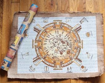 Ancient Egyptian Zodiac Scroll