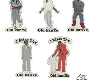 I Miss the Old Kanye Stickers