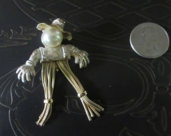 Emmons Scarecrow Pin Brooch
