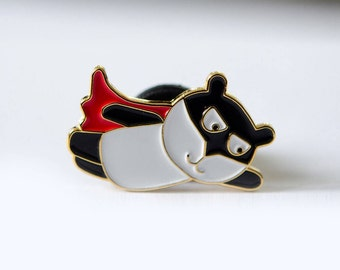 Super Panda Pin
