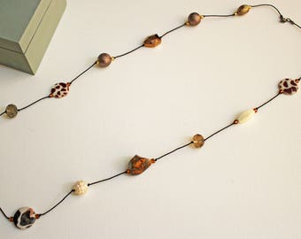 Multi Beaded Necklace