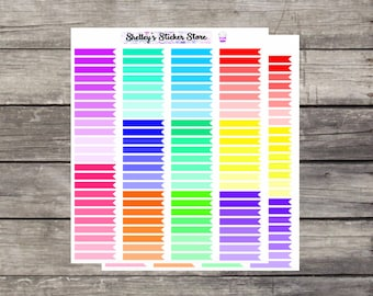 Flag Planner Stickers