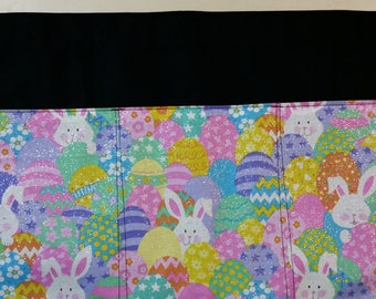 Easter Glitter Bunny Server Half Apron with 3 pockets