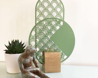 Totem RoV lamp - lighting - light green - Christmas gift idea