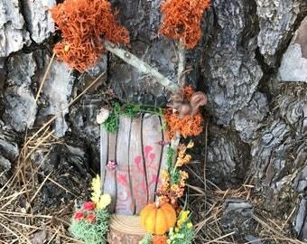 Fairy Door in Autumn