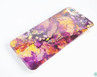 Soft ombre granite phone case for iPhone 6 6S