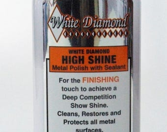 White Diamond High Shine Finishing Metal Polish