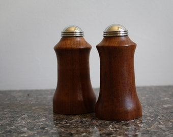 A Vintage Pair of Midcentury Style Salt and Pepper Shakers