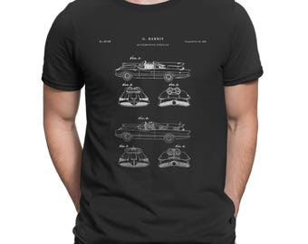 Batman TV 1966 Batmobile Patent T Shirt, Batman Car, Batman Shirt, Movie Shirt, Batman Gifts for Men, Batman Print P196