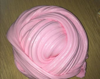 Baby Pink Fluffy Slime, soft, lovely clicky, Stretchy, cheap slime from the UK